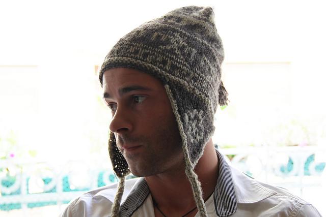 Peruvian earflap hat