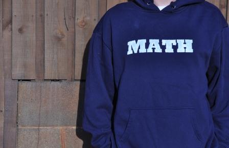 Math sweatshirt