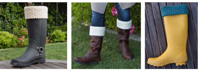 Quilted-lattice-welly-warmers