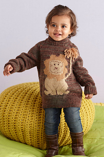 Lion pullover