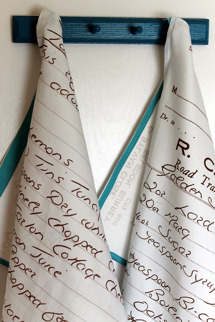 Recipe tea towels