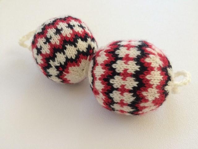 Tricolor christmas balls (Small)