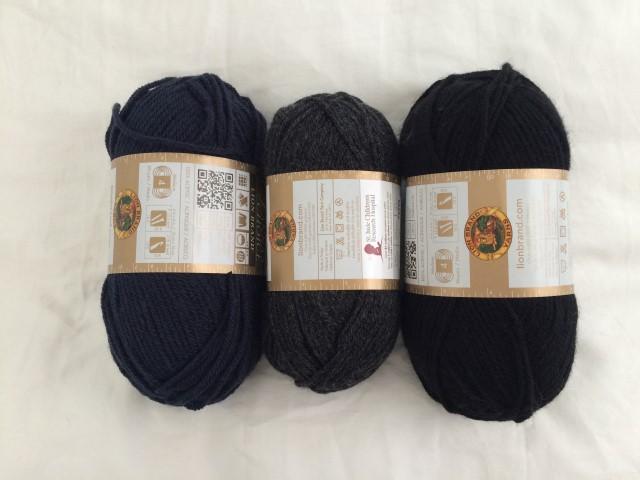 Dark yarn