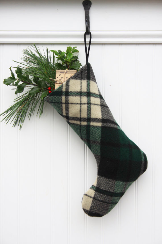 Plaid_Christmas_stocking