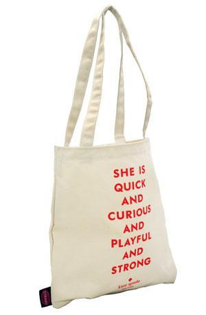 She is quick bag